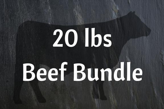 20 lbs Beef Bundle