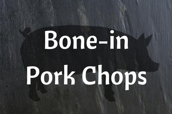 Pork Bone-in Chops