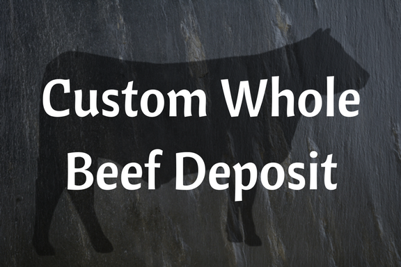 Custom Whole Grass-fed Beef