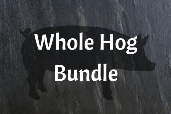 Whole Pasture-raised Hog Bundle