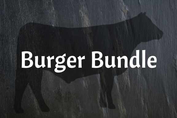 10 lb Burger Patties Bundle