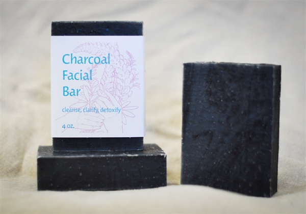 Charcoal Facial Soap Bar