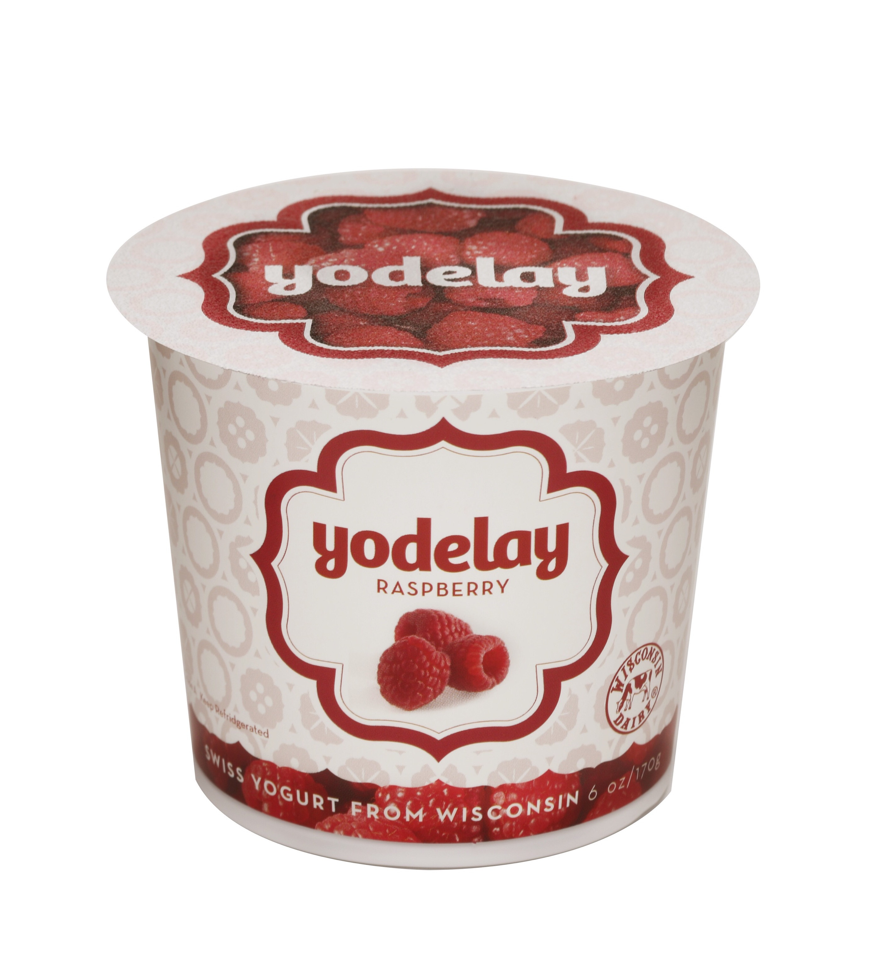 Yodelay Yogurt - Raspberry