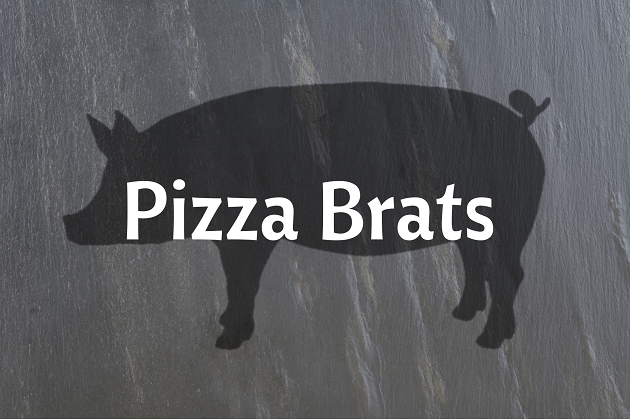 Pizza Brats
