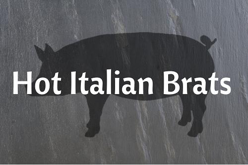 Hot Italian Brats