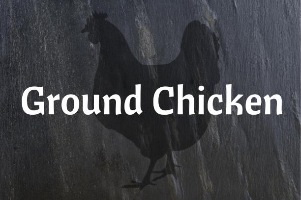 """""""Bonus"""" Ground Chicken"""