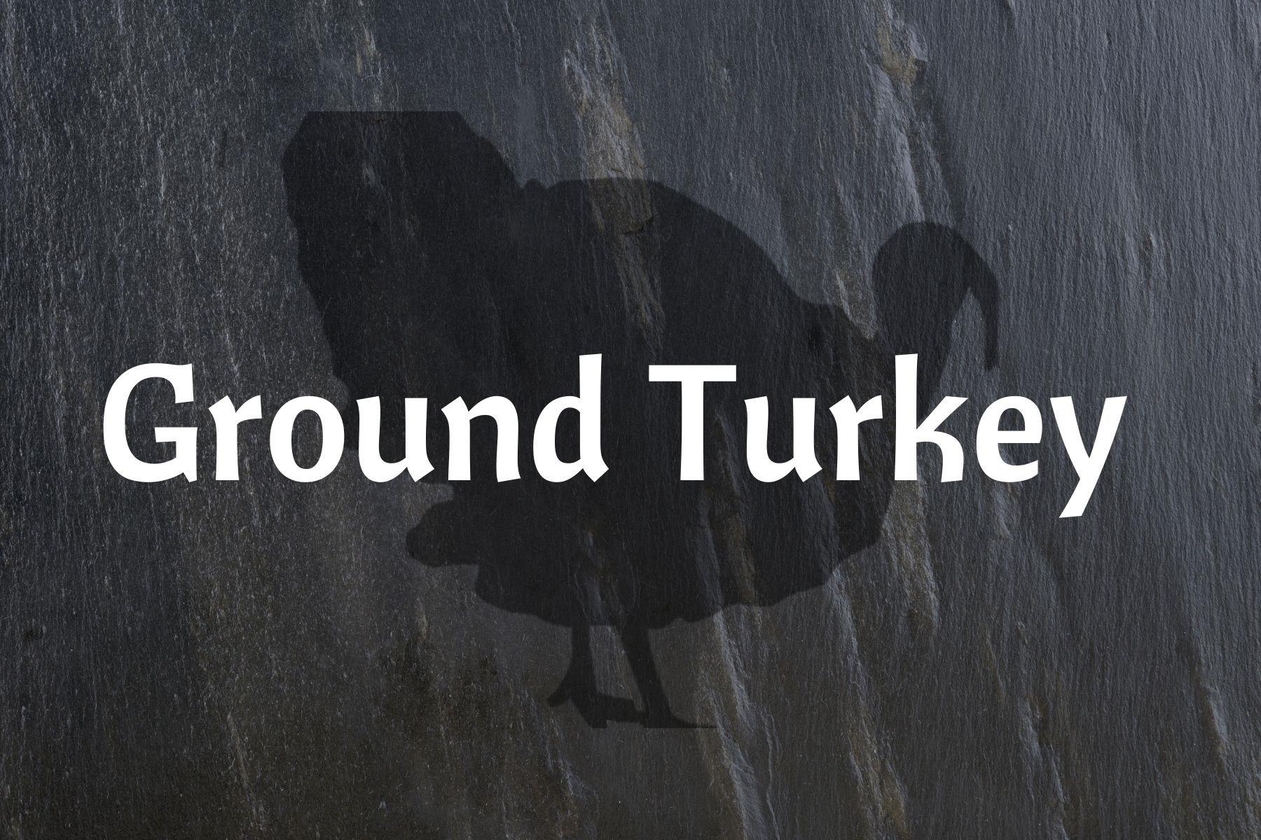 """Bonus"" Ground Turkey"