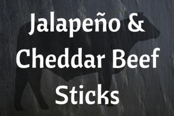 Jalapeño & Cheddar Beef Sticks