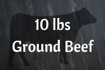 48 lbs Ground Beef Bundle