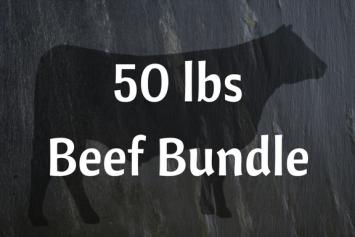 50 lbs Beef Bundle
