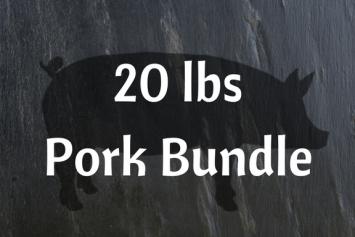 20 lbs Pork Bundle