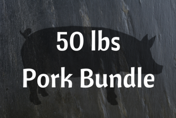 50 lbs Pork Bundle
