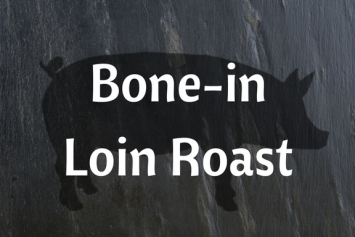 Bone-in Loin Roast