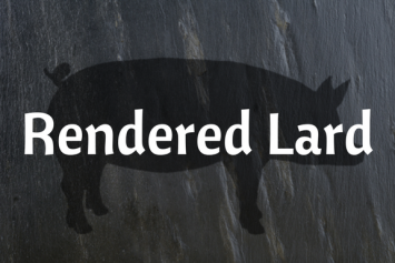 Rendered Lard