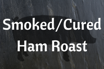 Smoked/Cured Ham Roast