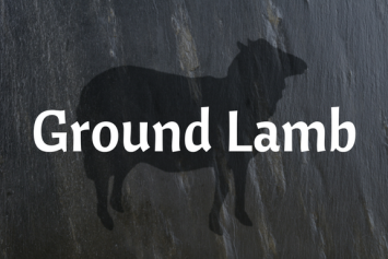 Ground Lamb