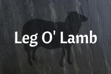 Leg O' Lamb Roast