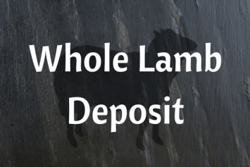 Custom Whole Lamb Deposit
