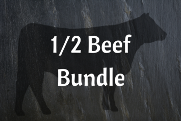 1/2 Grass-fed Beef Bundle