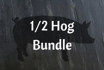 1/2 Pasture-raised Hog Bundle