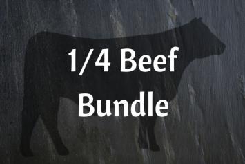 1/4 Grass-fed Beef Bundle