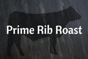 Prime Rib Roast (Bone-in)