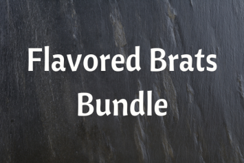 Flavored Brat Bundle - 10 lbs