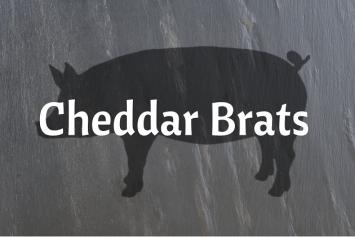Cheddar Brats