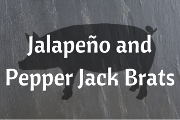 Jalapeño and Pepperjack Brats