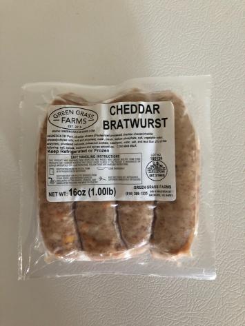 Bratwurst - Cheddar