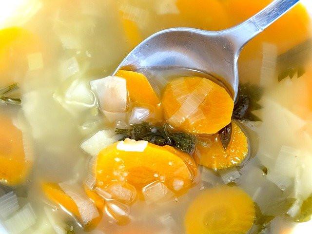 Warming Chicken Soup