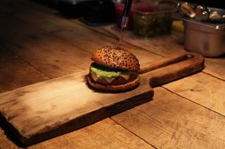 Tart Apple Turkey Burger