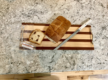 Elizabeth's Sourdough Bread - Golden Wht. Cinnamon-Raisin