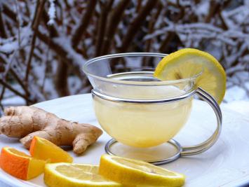 Kombucha - Lemon Ginger 1/2 Gallon