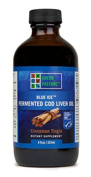 Fermented Cod Liver Oil - Liquid, Cinnamon