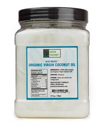 Green Pastures Virgin Coconut Oil - 26 oz