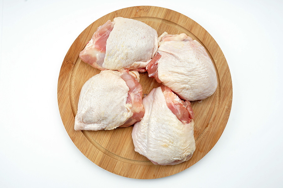 20 lbs Bone-in and Skin-on Chicken Thigh Bundle