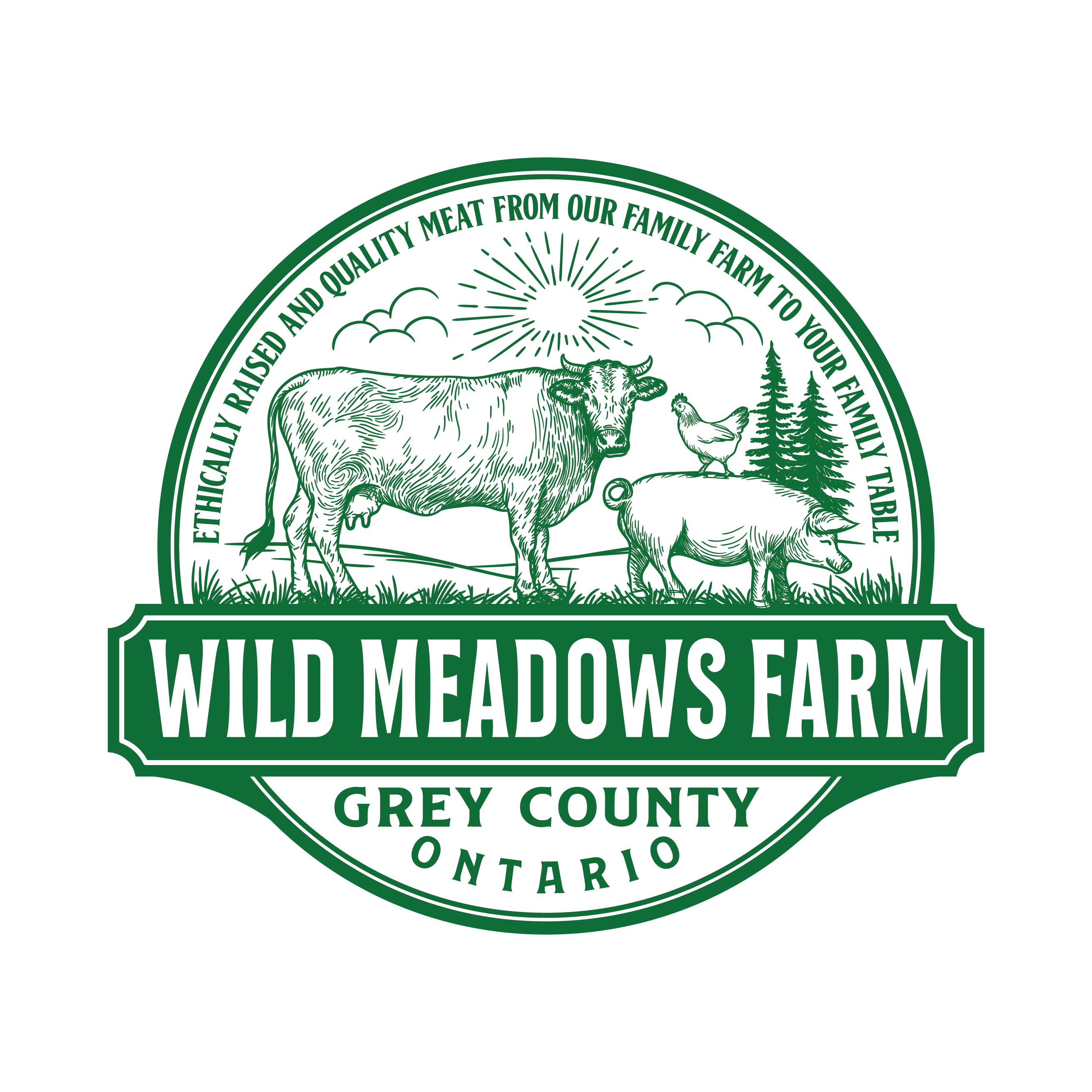 Wild Meadows Farm Logo