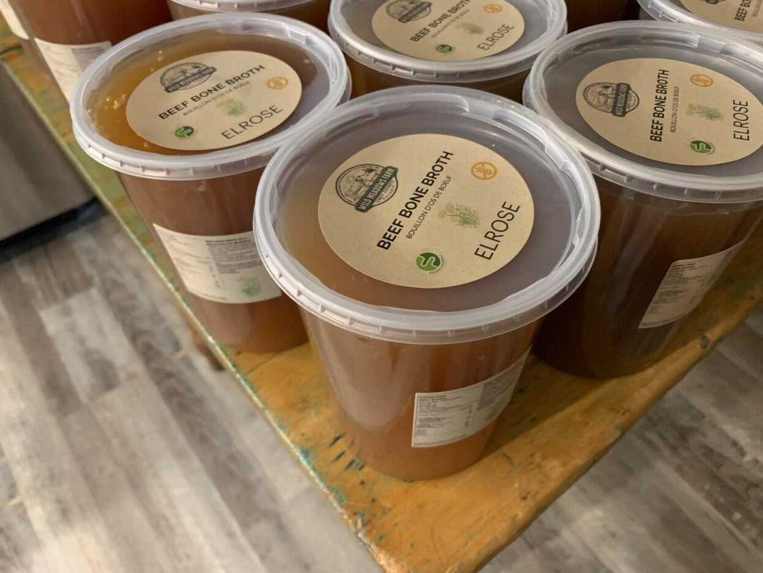 Low FODMAP Grassfed and Finished Beef Bone Broth