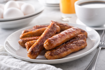 Pork Breakfast Sausage - Garlic