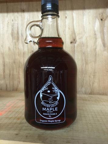 Organic Maple Syrup - 1L Jar