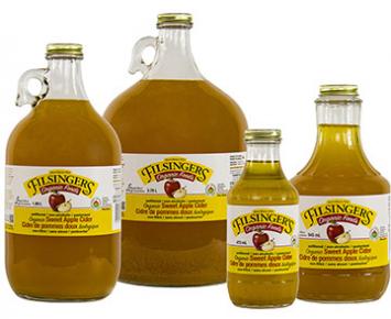 Organic Sweet Apple Cider