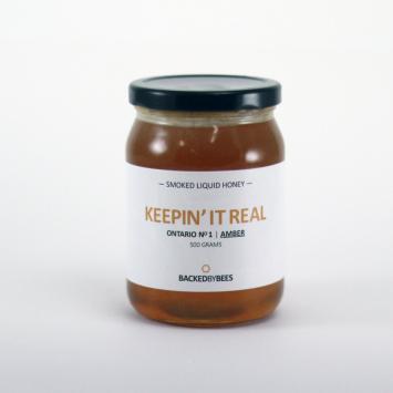 Smoked Liquid Honey - 500 g jar