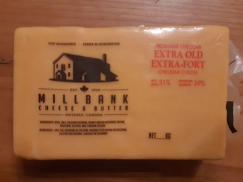 Millbank Cheese - Extra Old Cheddar