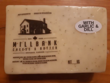 Millbank Cheese - Garlic & Dill
