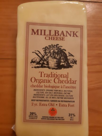 Traditional Organic Cheddar