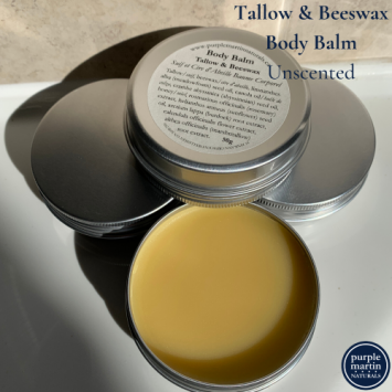 Tallow and Beeswax Body Balm