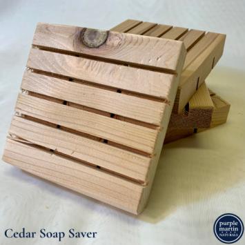Cedar Soap Saver