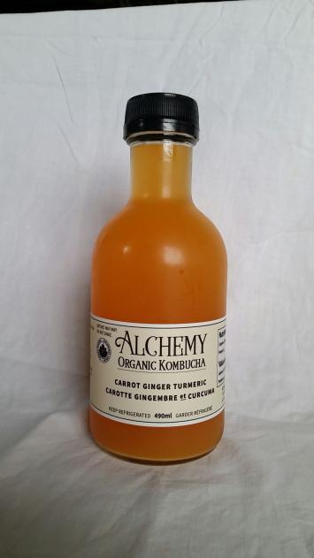 Kombucha - Carrot Ginger Tumeric