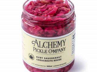 Ruby Sauerkraut